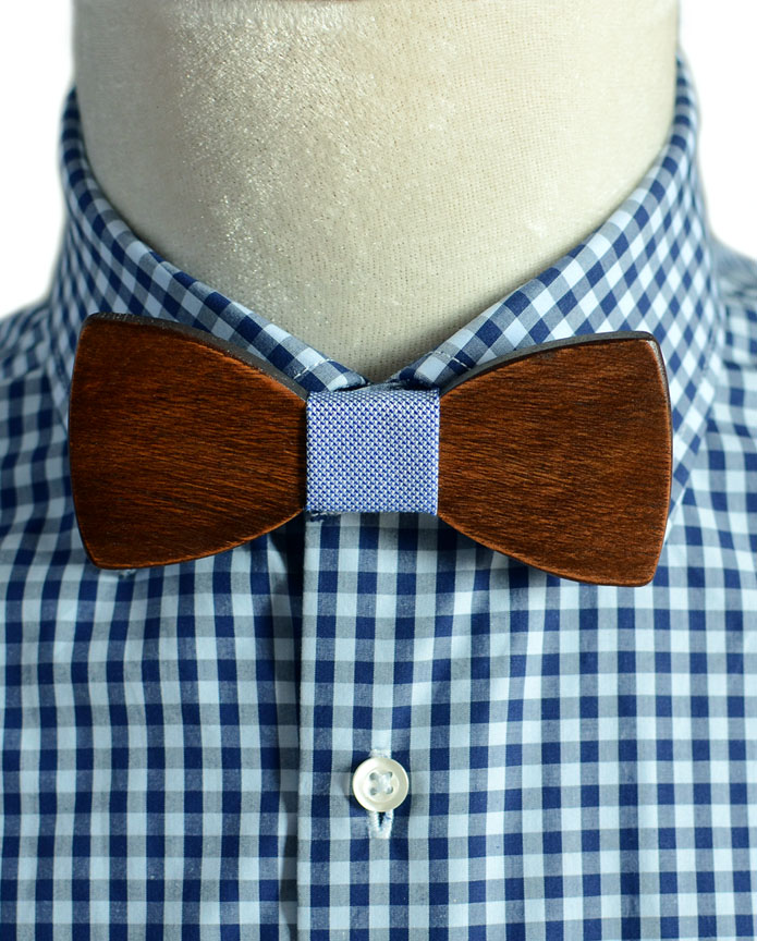 how to cut a bow tie in wood